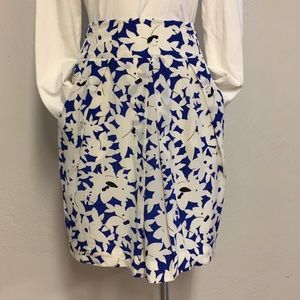 Anthropologie Odille Silk Skirt, 10